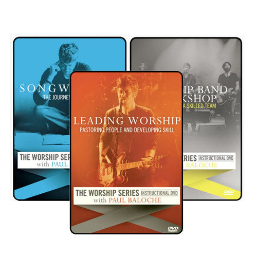 The Worship Series: Instructional DVD Bundle