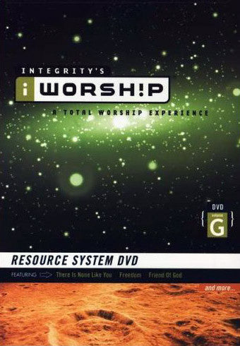 iWorship Resource System DVD G