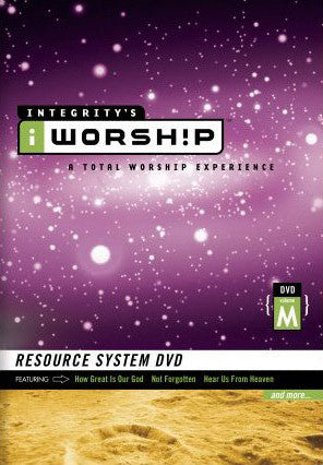 iWorship Resource System DVD M