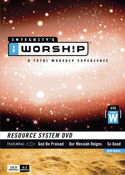 iWorship Resource System DVD W