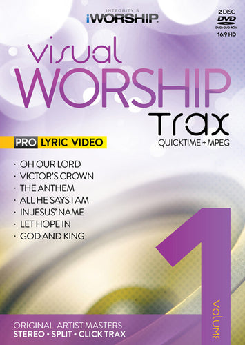 iWorship Visual Worship Trax Volume 1