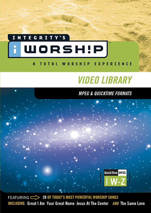 iWorship MPEG/QuickTime Video Library W-Z