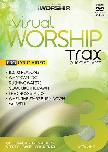 iWorship Visual Worship Trax Volume 3