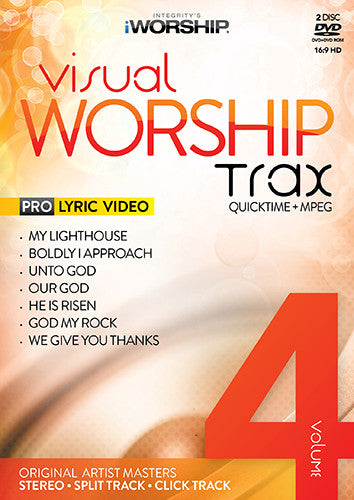iWorship Visual Worship Trax Volume 4