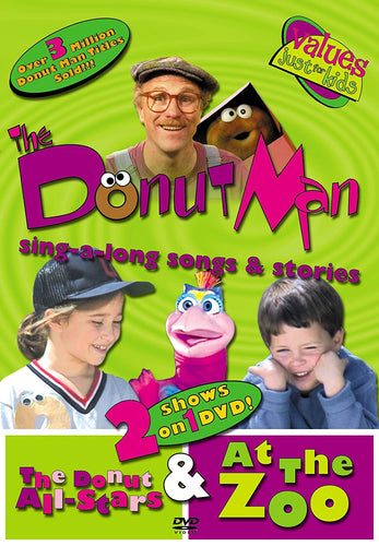 The Donut Man: Donut All Stars / At The Zoo