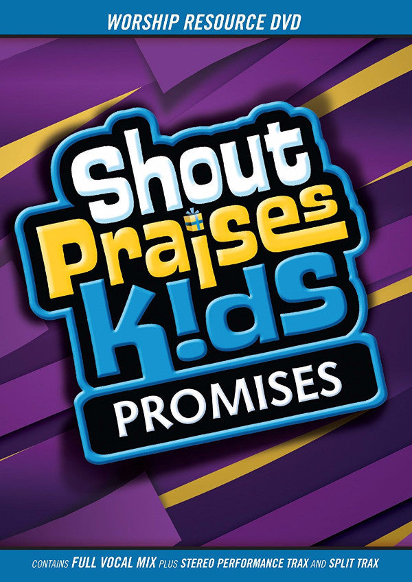 Shout Praises Kids: Promises Worship Resource DVD
