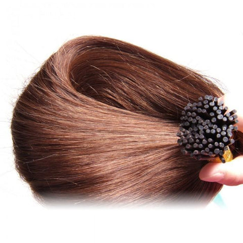 50g I Tip Peruvian Straight Human Virgin Hair 0.5 g/s 10A - HARRY BELLA