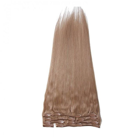 Brazilian Straight Virgin Blonde Clip In Hair Extensions 8A - HARRY BELLA