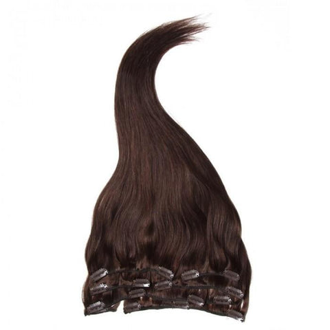 Straight Clip In Indian Virgin Human Hair Extensions 8A - HARRY BELLA