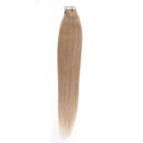 Blonde Indian 50g Silky Straight PU Skin Weft Hair Extensions 10A - HARRY BELLA