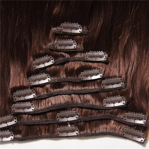 Peruvian 80g Clip In Human Hair Extensions- 10A - HARRY BELLA