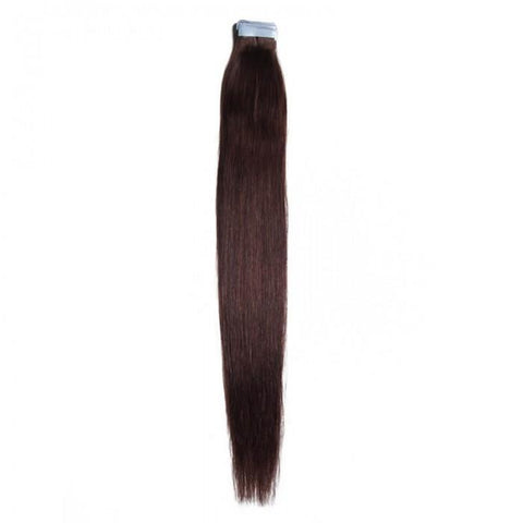Indian 50g Straight Virgin PU Tape Human Hair 8A - HARRY BELLA