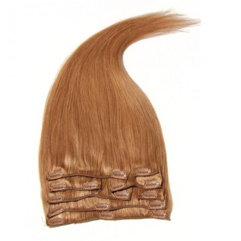 Malaysian 100g Straight Clip In Human Hair Extensions 10A - HARRY BELLA