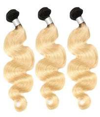 3 Body Wave Platinum Bundles 1B/613 10A - HARRY BELLA