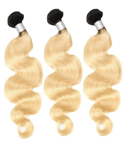 3 Body Wave Platinum Bundles 1B/613 8A - HARRY BELLA
