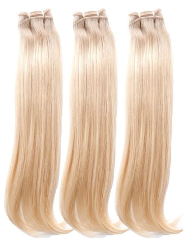 "3 Straight Blonde Bundles 20""22""24"" 10A - HARRY BELLA"