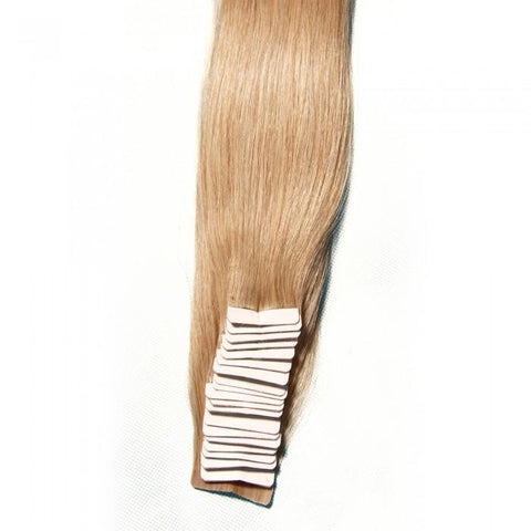 Blonde Indian 50g Silky Straight PU Skin Weft Hair Extensions 8A - HARRY BELLA