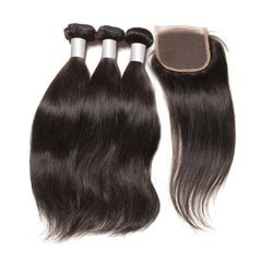 3 Straight Bundles + Closure 10A - HARRY BELLA