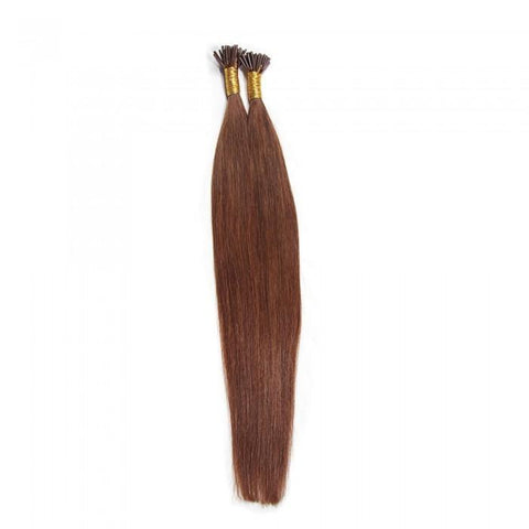 Indian 50g I Tip Straight Human Hair Extensions 0.5 g/s- 10A - HARRY BELLA