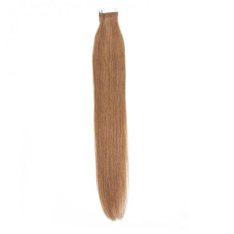 Peruvian 50g Straight PU Taping Human Virgin Hair Extensions 8A - HARRY BELLA