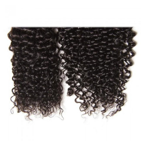 3 Bundles Brazilian Jerry Curly Hair Weave With Closure 8A - HARRY BELLA