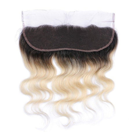 Platinum Body Wave Frontal 1B / 613 10A - HARRY BELLA