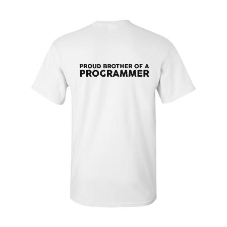 Proud Brother of A Programmer (White)