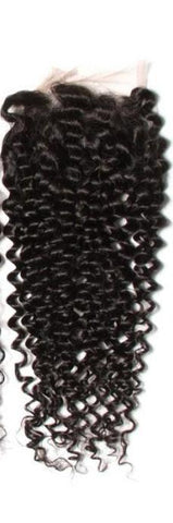 3pcs Malaysian Jerry Curly Hair Wefts With Closure 8A - HARRY BELLA