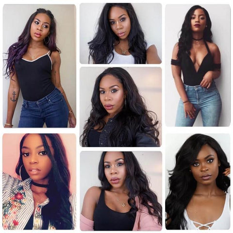 4 Bundles Indian Body Wave Hair Weft With Closure 8A - HARRY BELLA