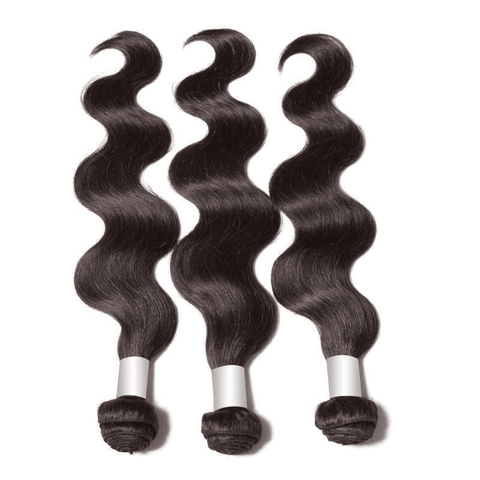3 Bundles Brazilian Body Wave With Lace Closure 10A - HARRY BELLA