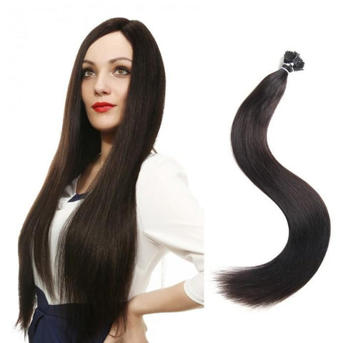 100 Pieces Hair Quality I Tip Hair Extensions 0.5g/s- 10A - HARRY BELLA