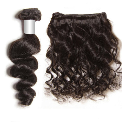 Harry Bella Peruvian Human Hair  Loose Wave 3 Bundles 10A - HARRY BELLA