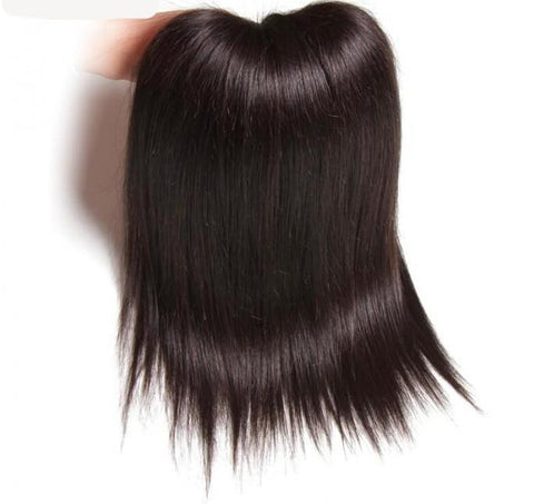 4pcs Brazilian Straight Virgin Hair With Lace Closure 8A - HARRY BELLA