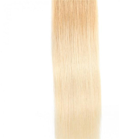 20pcs 50g Ombre Straight Tape In Hair Extensions T27-613 100% Virgin Hair- 10A - HARRY BELLA
