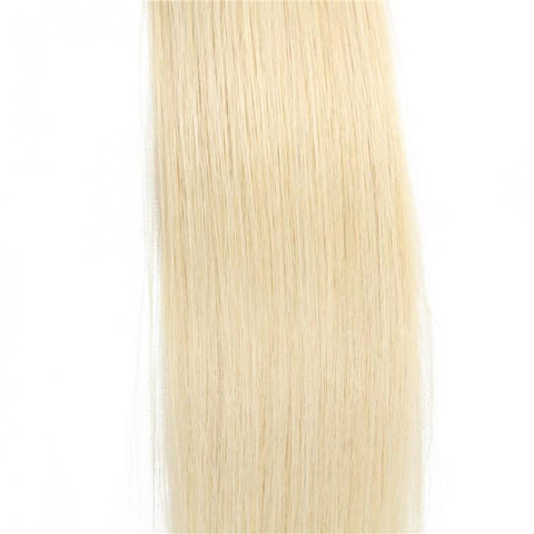 20pcs 50g Straight Tape In Hair Extensions #613 Lightest Blonde 100% Virgin Hair 10A - HARRY BELLA