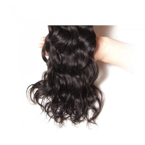 Hair Extensions Brazilian Natural Wave Human Hair 4Pcs/lot Natural Wave 8A - HARRY BELLA