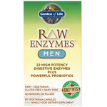 Raw Enzymes Men 90ct Garden of Life