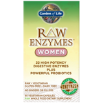 Raw Enzymes Women 90ct Garden of life