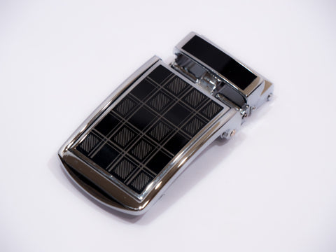 Black Checkered Lift Buckle