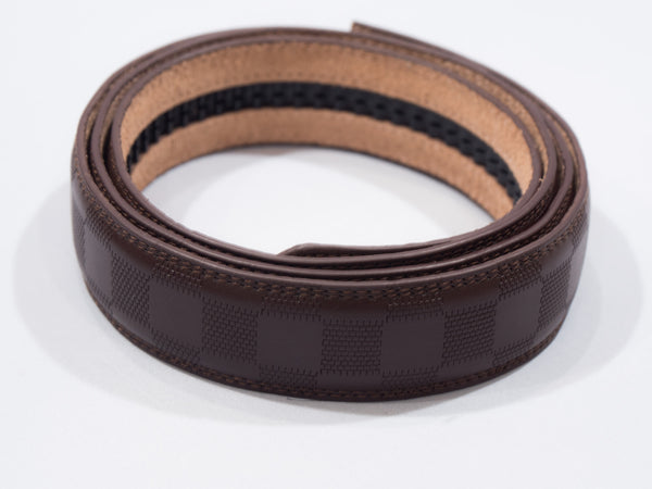 Brown Checkered Belt