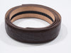 Brown Alligator Skin Imitation Belt