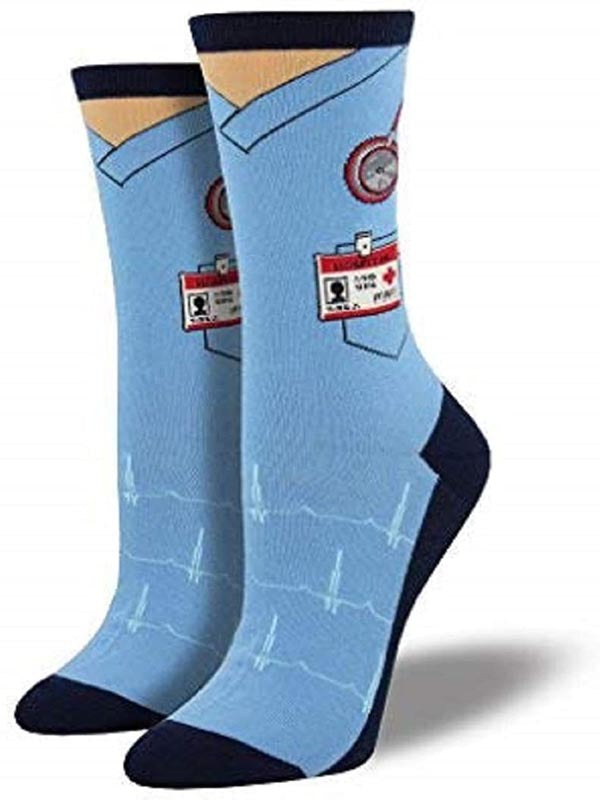 Women's Medical Scrubs Socks