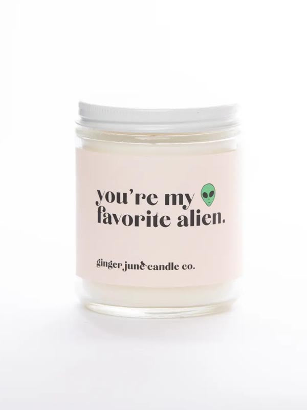 You're My Favorite Alien • Soy Candle