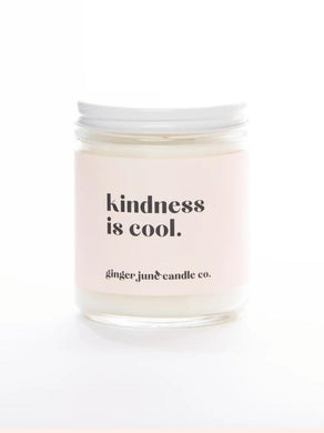 Kindness Is Cool Soy Candle