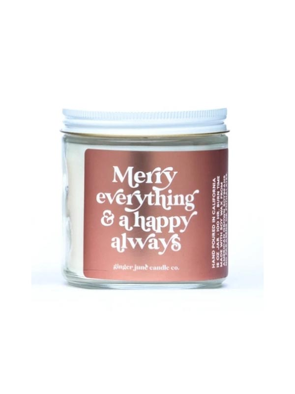 Merry Everything Soy Candle
