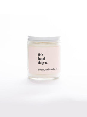 No Bad Days • Soy Candle