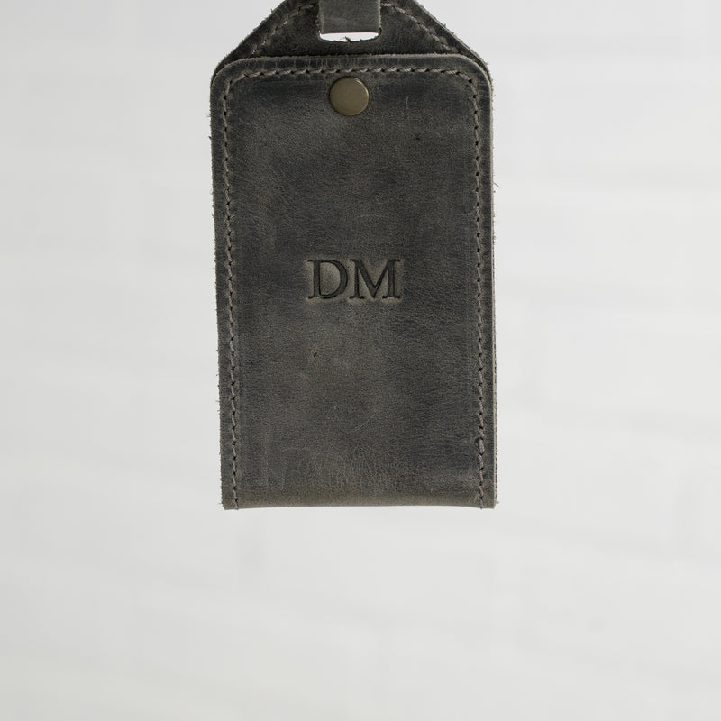 Bond Luggage Tag - Rock
