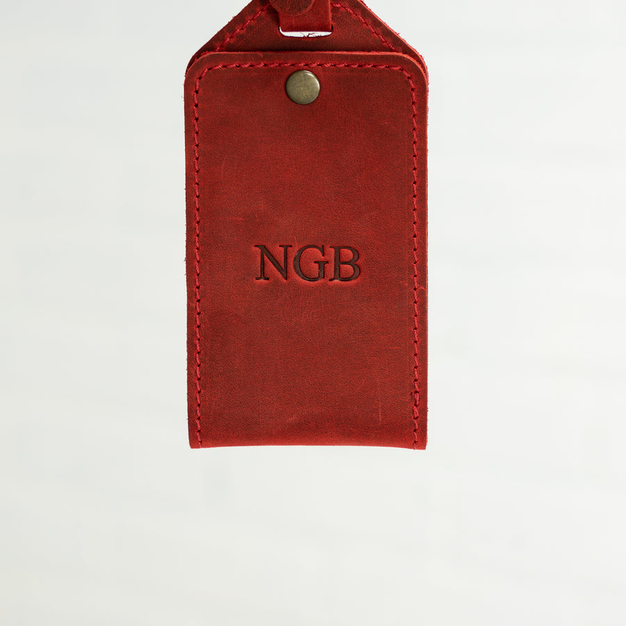 Bond Luggage Tag - Rose