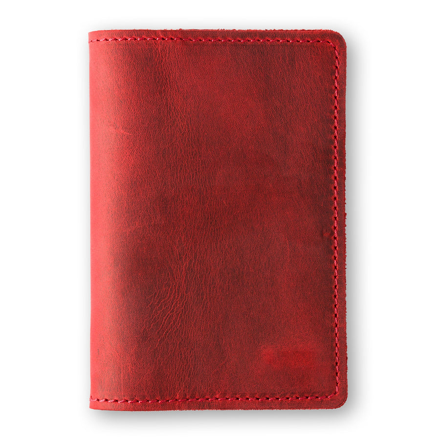 DeKalb Passport Cover - Rose Red