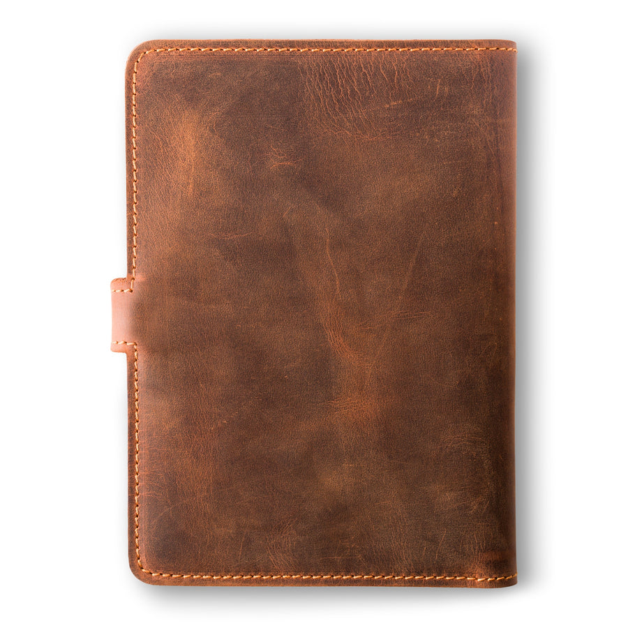 DuPage Leather Journal - Mahogany
